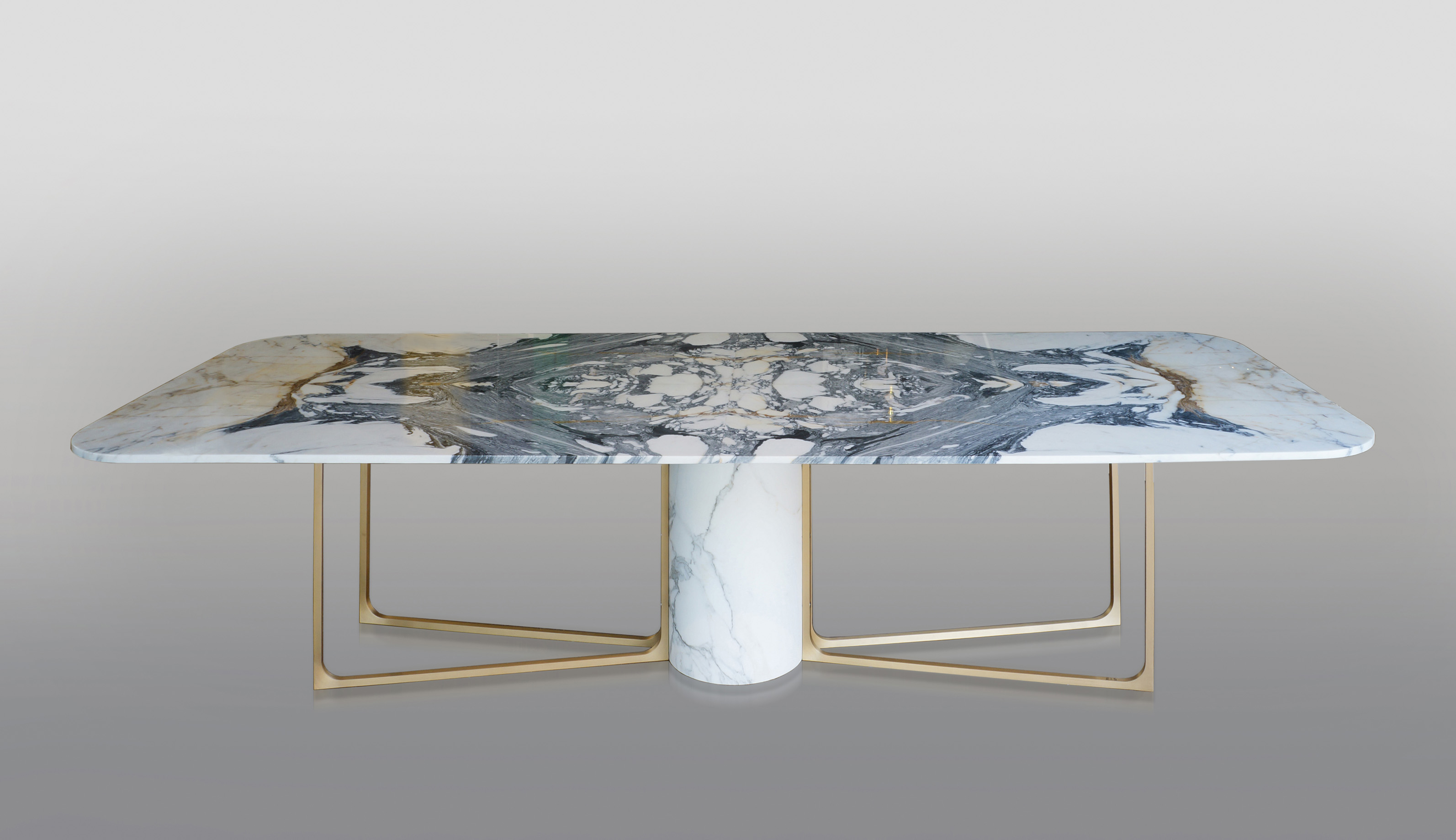 Dining table DT04 marble top